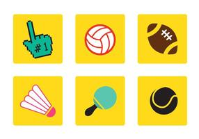 Vettori di icone di sport