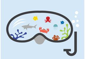 Fai snorkeling con il pesce vettore