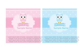 scrapbook baby shower cards