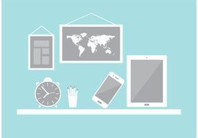 Elementi vettoriali desktop