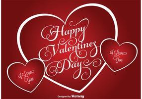 San Valentino sullo sfondo