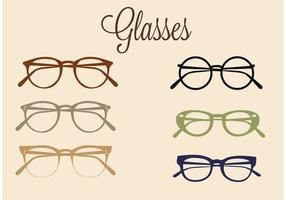 Set di occhiali vettoriali gratis