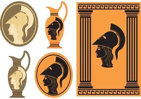 Dea greca di Athena
