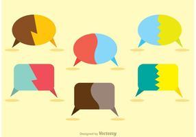 Dividi il pacchetto di icone di Live Chat