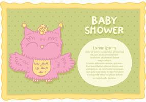 vettore di baby shower gratuito