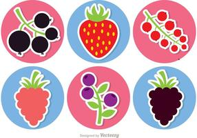 Sticker Pack di frutti di bosco