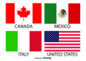 Bandiere vettoriale