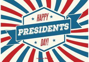 Illustrazione di presidenti Day vettore