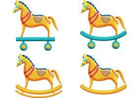 Vettori giocattolo cavallo di Troia