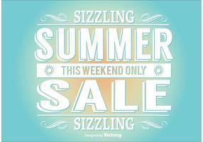 Illustrazione di vendita estiva