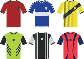 Vettori di Jersey di sport di calcio