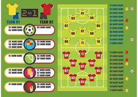 Grafica vettoriale di calcio