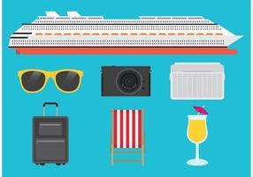 vettore vacanze nave da crociera