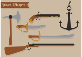 Armi di vettore del pirata