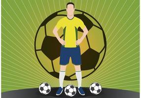Calcio sfondo vettoriale