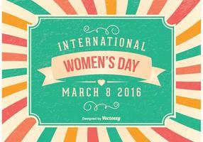 Illustrazione del giorno delle donne vettore