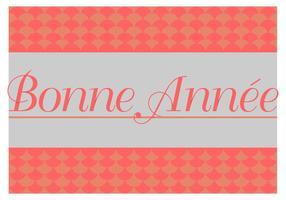 vettore di carta gratis bonne annee