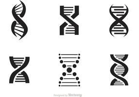 Set di icone vettoriali Doble Helix