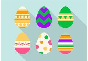 Insieme di progettazione di vettore dell'uovo di Pasqua
