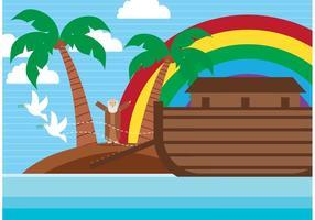 illustrazione dell'arca vettoriale