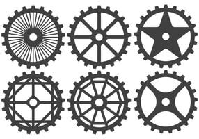 Vettori di pignoni bici
