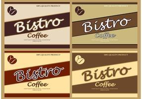 Sfondi caffè vettoriale