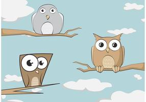 Illustrazione di uccelli vettoriali gratis