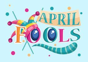 April Fools Vector