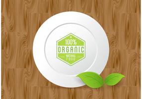 Disegno vettoriale di cibo biologico