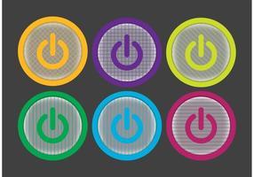 Pacchetto di icone Off On Button