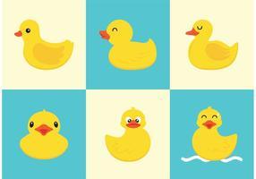 Rubber Duck Vector gratuito