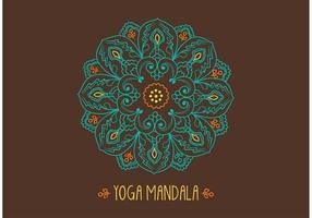 Ornamental Mandala Vector gratuito