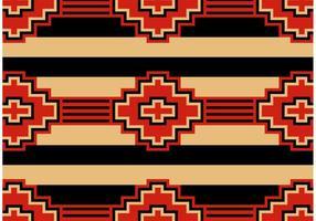 Vettore senza cuciture del modello dell'nativo americano