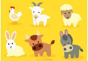 Vettori di animali del fumetto