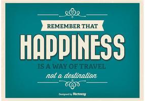 Inspirational Poster tipografico vettore