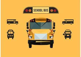 Vettore gratis dello scuolabus