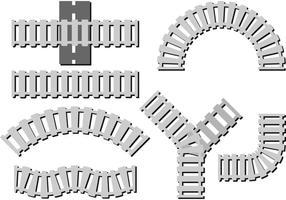 Modi di vettore del binario ferroviario