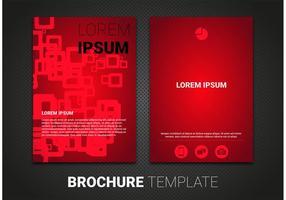 Brochure template vettoriali gratis