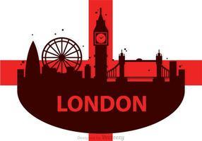 vettore di scape città di Londra