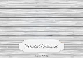 Sfondo in legno bianco vettore