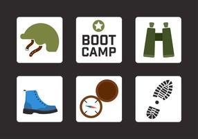 Boot Camp elementi vettoriali