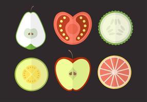 Frutta e verdura vettore