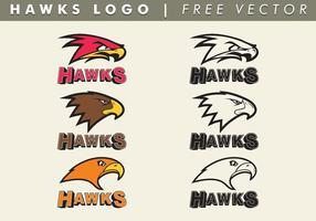 Logo vettoriale Hawks gratuito