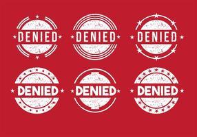 Vettori di francobolli negati