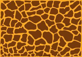 Sfondo di stampa giraffa vettore