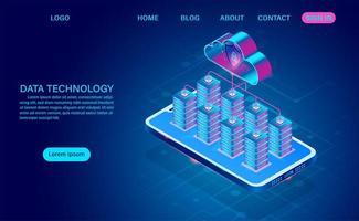 server sul telefono con cloud per la protezione dei dati