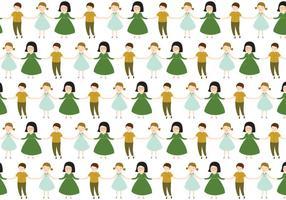Caratteri bambini Pattern