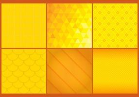Vettori di sfondo giallo e arancione