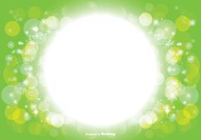 Bella Bokeh e Sparkle Background Illustratiion vettore