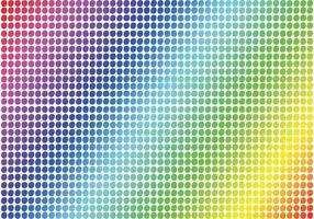 Polka Dot Pattern Vector gratuito